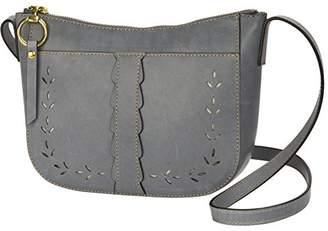 Frye Ilana Perf Zip Crossbody Bag Oiled Veg