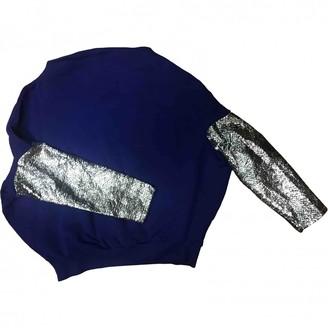 Gaelle Bonheur Blue Cotton Knitwear for Women
