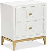Thumbnail for your product : Furniture Rachael Ray Chelsea Kids Nightstand with Decorative Lattice