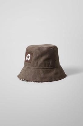 Weekday Recover Bucket Hat - Brown