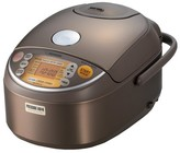 Zojirushi Induction Rice Cooker & Warmer - Stainless Steel/Brown (5.5 cup)