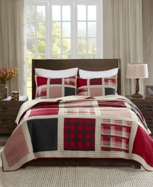 Woolrich Huntington Reversible 3-Pc. Oversized Full/Queen Quilt Mini Set