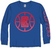 Junk Food Clothing Kids LA Clippers Long Sleeve Tee