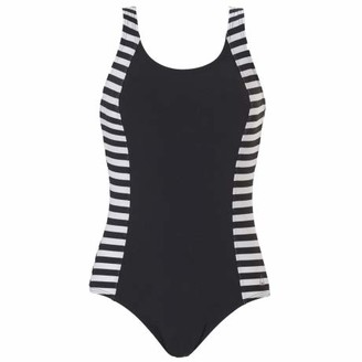 Tweka Regular Stripe Chlorine Resistant Moulded Cup Swimsuit (20