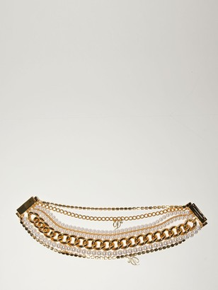 DSQUARED2 Lvr Exclusive Brass Choker