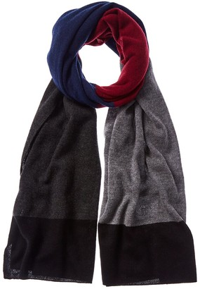 In2 By Incashmere Incashmere Colorblocked Cashmere Scarf