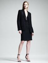 Alexander Wang Cutout Set-in-Collar Blazer