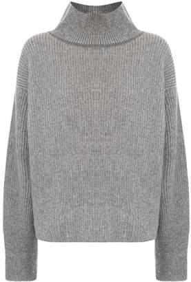 MAISON KITSUNÉ roll-neck oversized sweater