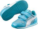 Puma Cabana Racer Glitter Kids Sneakers