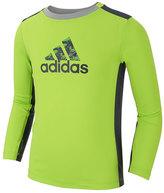 adidas Bright Green 'Adidas' Scrimmage Training Top - Toddler & Boys