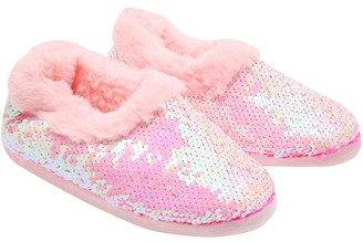 M&Co Two way sequin slippers