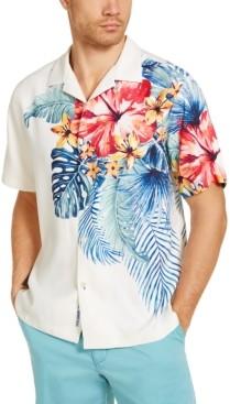 Tommy Bahama Men's Kayo Island Classic-Fit Floral-Print Silk Camp Shirt