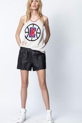 Zadig & Voltaire NBA x ZV Edera Clippers Tank Top