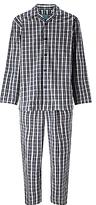 John Lewis Ealing Check Pyjamas, Navy