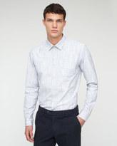 Micro Check Slim Shirt