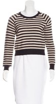 Mara Hoffman Striped Cropped Sweater