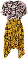 Kenzo flower print day dress - women - Silk - 36