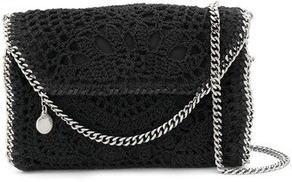 Stella McCartney Falabella crochet crossbody bag