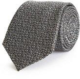 Reiss Fisher - Silk Patterned Tie in Grey, Mens