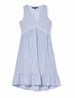 Only Women's Onlmargaery Life Sl Stripe DNM Dress