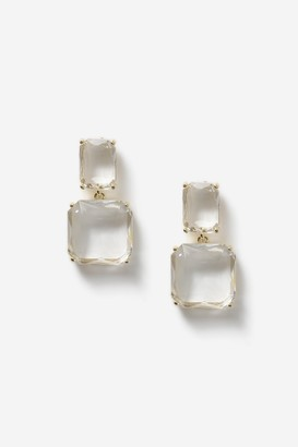 Topshop Stone Drop Earrings