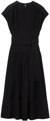 Proenza Schouler short-sleeved combo dress