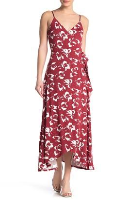 Amour Vert Astrida Sleeveless Wrap Dress