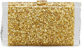 Edie Parker Lara Confetti Clutch Bag, Golden