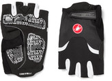 Castelli Arenberg Gel Ax Suede And Jersey Cycling Gloves - Black