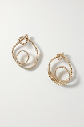 STVDIO - Irene Gold-tone Earrings