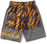 Under Armour Big Boys 8-20 Stunted Printed Shorts
