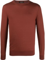 Ermenegildo Zegna crew neck knitted jumper