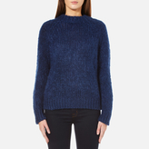 Samsoe & Samsoe Women's Atwo ONeck Jumper - Estate Blue