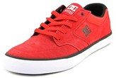 DC Nyjah Vulc Round Toe Suede Sneakers.