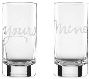 Kate Spade 'two Of A Kind' Glasses (Set Of 2)