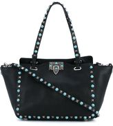 Valentino Garavani Valentino small 'Rockstud Rolling' tote - women - Leather - One Size