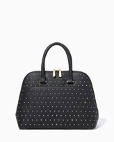 Charming charlie Fearless Studded Satchel