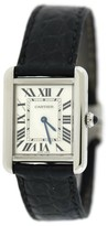Cartier Tank Solo 2716 Stainless Steel 24mm Womens Watch