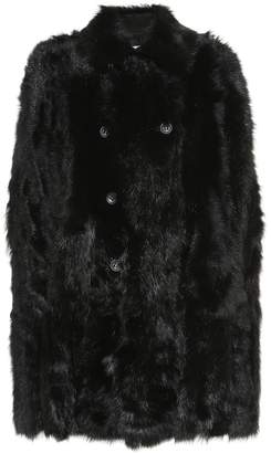 RED Valentino Reversible shearling cape