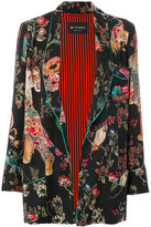 Etro floral print blazer - women - Silk/Acetate/Wool - 40