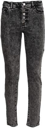 Michael Kors acid wash denim jeans