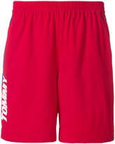 Tommy Jeans logo print swim shorts