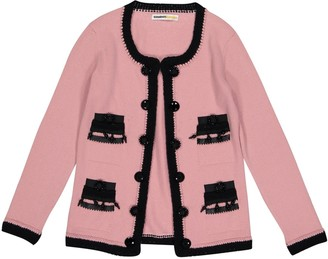 Clements Ribeiro Pink Cashmere Knitwear