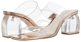 Schutz Prisla (Transparent(Platina) Vinil) Women's Sandals