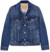 Acne Studios Lamp Oversized Denim Jacket - Mid denim