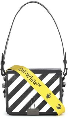 Off-White Binder Clip leather shoulder bag