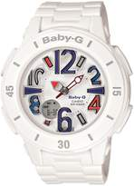 Casio Women's BGA170-7B2 Baby-G Shock Resistant Resin Analog Watch