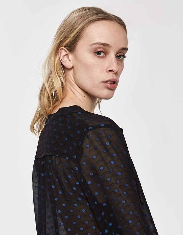 Just Female Derek Polka Dot Shirt