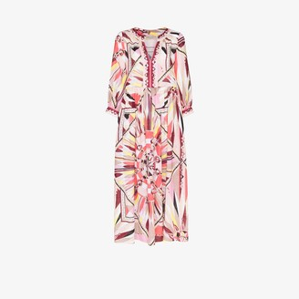 Emilio Pucci Bes print kaftan dress
