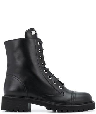 Giuseppe Zanotti Nevada leather 40mm ankle boots